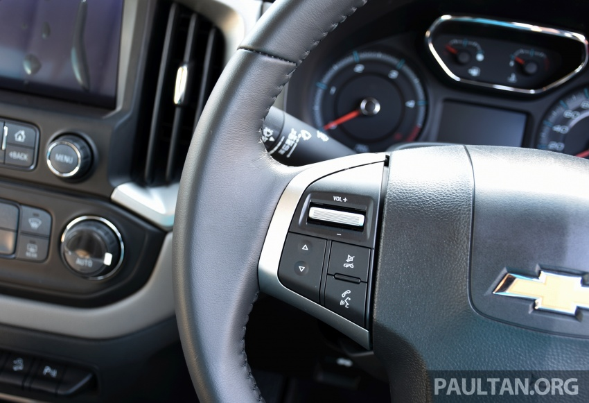 Chevrolet Colorado 'facelift' rasmi dilancarkan di Malaysia; tiga pilihan enjin, harga bermula RM100k Image #565927