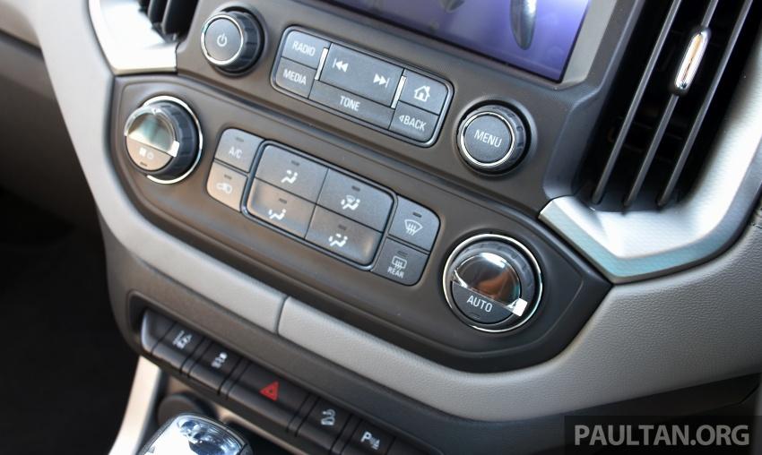 Chevrolet Colorado 'facelift' rasmi dilancarkan di Malaysia; tiga pilihan enjin, harga bermula RM100k Image #565929