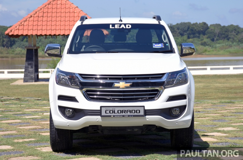 Chevrolet Colorado 'facelift' rasmi dilancarkan di Malaysia; tiga pilihan enjin, harga bermula RM100k Image #565915