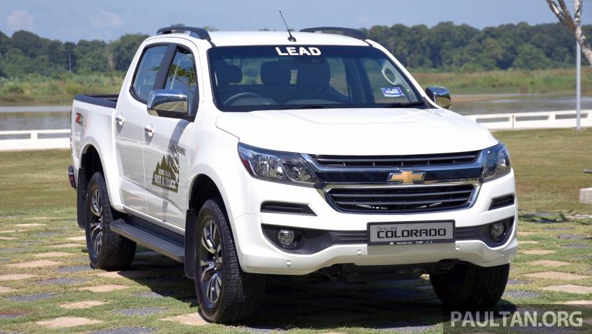 Chevrolet Colorado 'facelift' rasmi dilancarkan di Malaysia; tiga pilihan enjin, harga bermula RM100k Image #565918