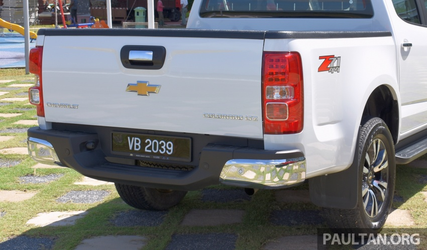 Chevrolet Colorado 'facelift' rasmi dilancarkan di Malaysia; tiga pilihan enjin, harga bermula RM100k Image #565919