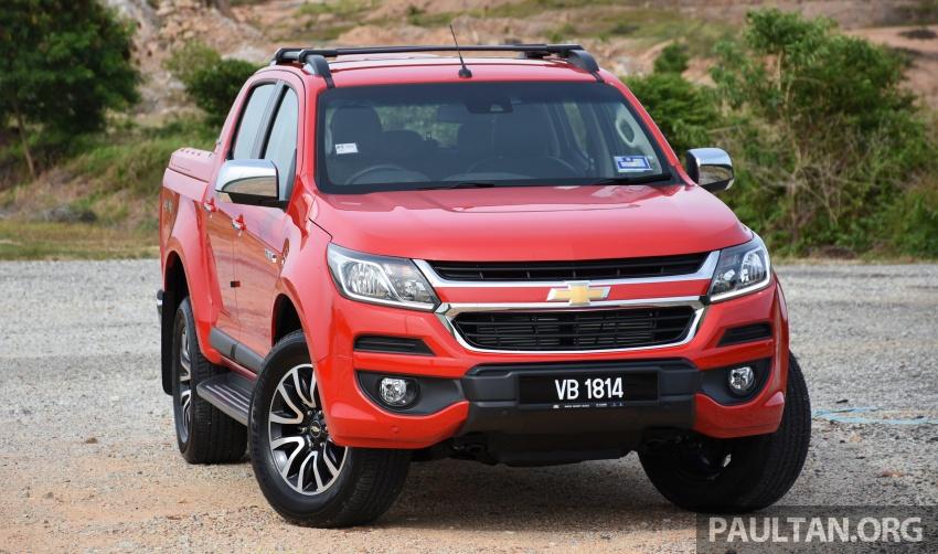 Chevrolet Colorado 'facelift' rasmi dilancarkan di Malaysia; tiga pilihan enjin, harga bermula RM100k Image #565942