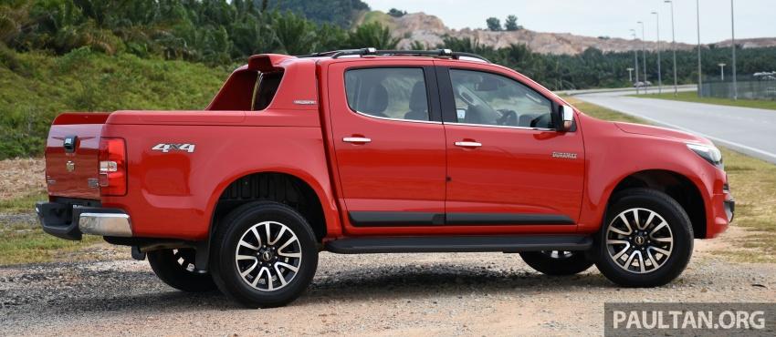 Chevrolet Colorado 'facelift' rasmi dilancarkan di Malaysia; tiga pilihan enjin, harga bermula RM100k Image #565943