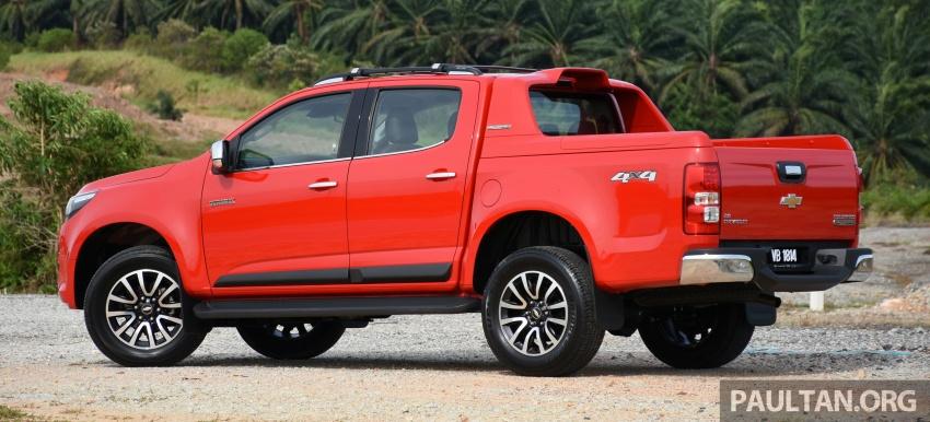 PANDU UJI: Chevrolet Colorado 2.8 High Country facelift – hadir dengan wajah baharu, lebih radikal Image #568219