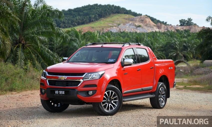 PANDU UJI: Chevrolet Colorado 2.8 High Country facelift – hadir dengan wajah baharu, lebih radikal Image #568220