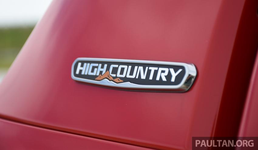 PANDU UJI: Chevrolet Colorado 2.8 High Country facelift – hadir dengan wajah baharu, lebih radikal Image #568224