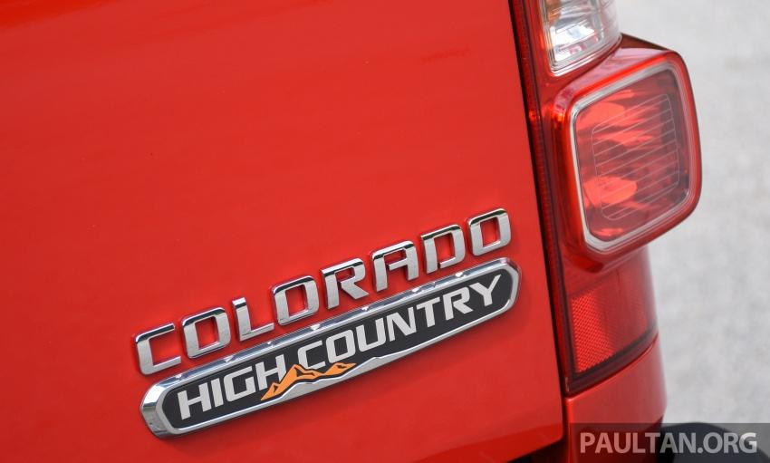 Chevrolet Colorado 'facelift' rasmi dilancarkan di Malaysia; tiga pilihan enjin, harga bermula RM100k Image #565951