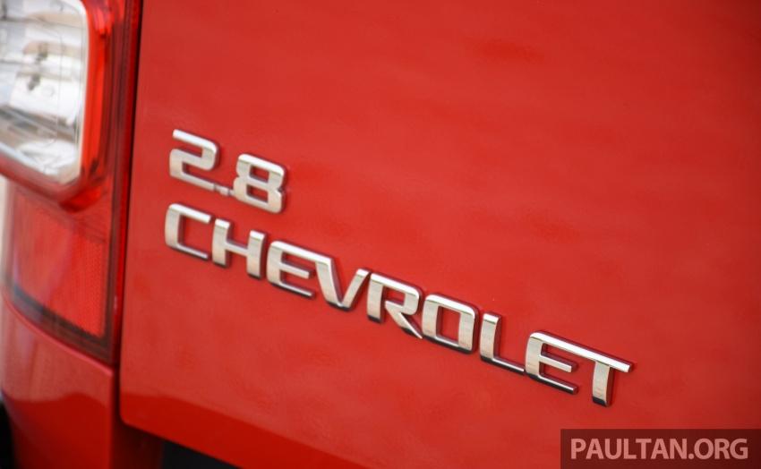 PANDU UJI: Chevrolet Colorado 2.8 High Country facelift – hadir dengan wajah baharu, lebih radikal Image #568228