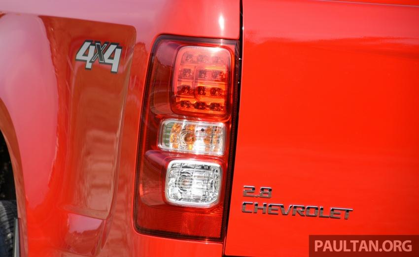Chevrolet Colorado 'facelift' rasmi dilancarkan di Malaysia; tiga pilihan enjin, harga bermula RM100k Image #565958