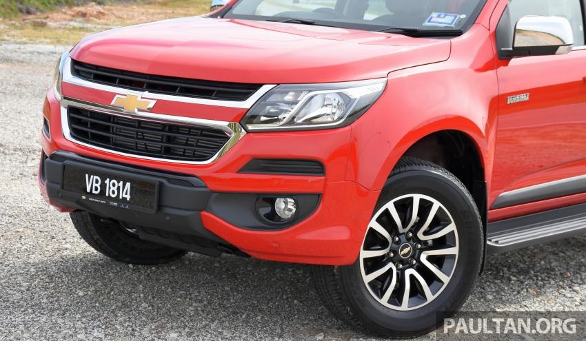 PANDU UJI: Chevrolet Colorado 2.8 High Country facelift – hadir dengan wajah baharu, lebih radikal Image #568184