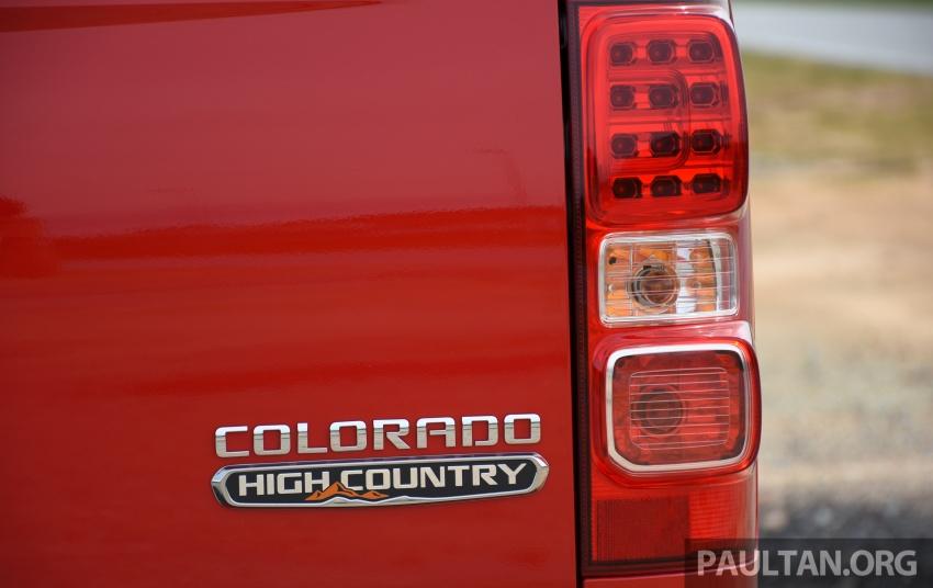 Chevrolet Colorado 'facelift' rasmi dilancarkan di Malaysia; tiga pilihan enjin, harga bermula RM100k Image #565960