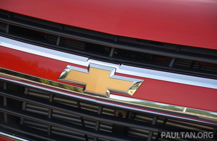 Chevrolet Colorado 'facelift' rasmi dilancarkan di Malaysia; tiga pilihan enjin, harga bermula RM100k Image #565961