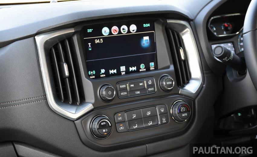 Chevrolet Colorado 'facelift' rasmi dilancarkan di Malaysia; tiga pilihan enjin, harga bermula RM100k Image #565965