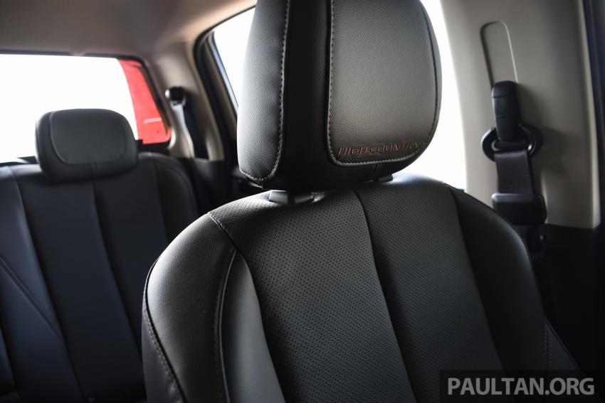 PANDU UJI: Chevrolet Colorado 2.8 High Country facelift – hadir dengan wajah baharu, lebih radikal Image #568196