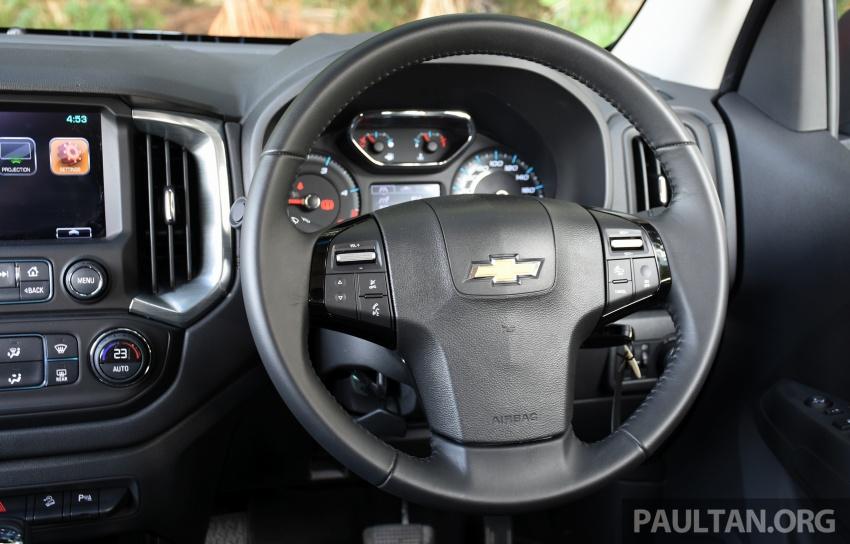 Chevrolet Colorado 'facelift' rasmi dilancarkan di Malaysia; tiga pilihan enjin, harga bermula RM100k Image #565973
