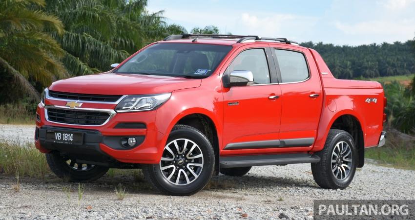 Chevrolet Colorado 'facelift' rasmi dilancarkan di Malaysia; tiga pilihan enjin, harga bermula RM100k Image #565936