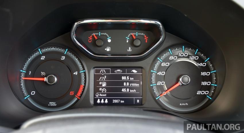 Chevrolet Colorado 'facelift' rasmi dilancarkan di Malaysia; tiga pilihan enjin, harga bermula RM100k Image #565974