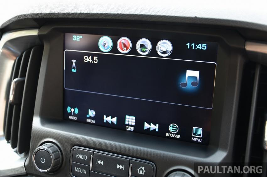 Chevrolet Colorado 'facelift' rasmi dilancarkan di Malaysia; tiga pilihan enjin, harga bermula RM100k Image #565984