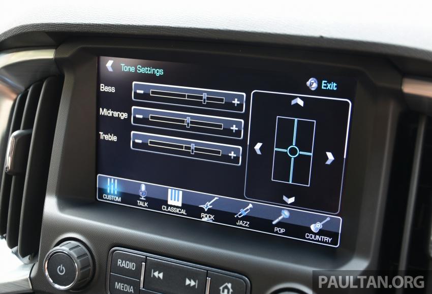 Chevrolet Colorado 'facelift' rasmi dilancarkan di Malaysia; tiga pilihan enjin, harga bermula RM100k Image #565988