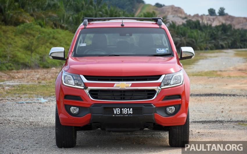 Chevrolet Colorado 'facelift' rasmi dilancarkan di Malaysia; tiga pilihan enjin, harga bermula RM100k Image #565937