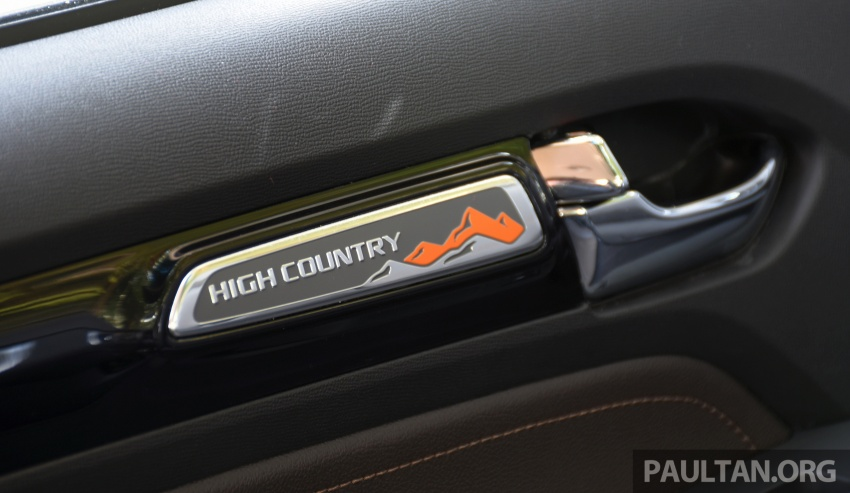 PANDU UJI: Chevrolet Colorado 2.8 High Country facelift – hadir dengan wajah baharu, lebih radikal Image #568239