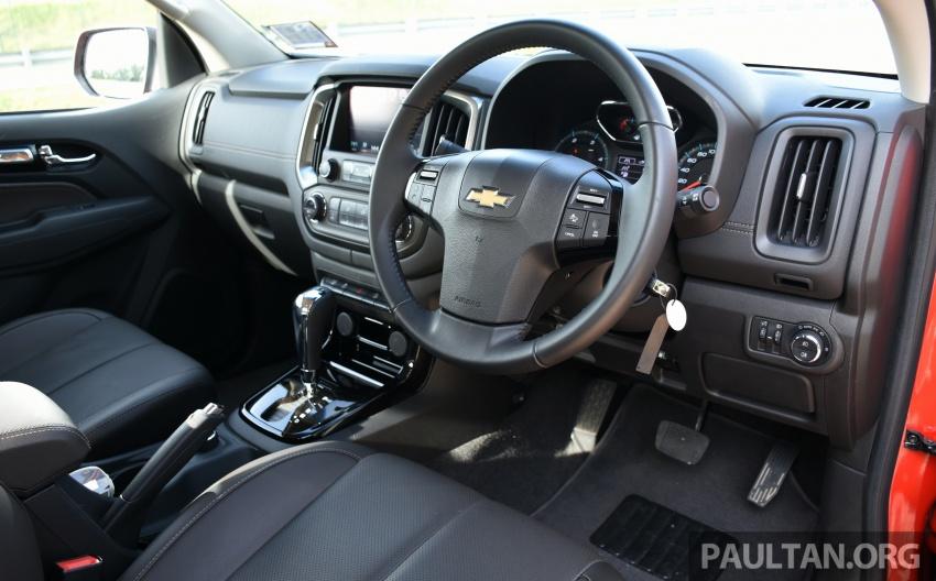 Chevrolet Colorado 'facelift' rasmi dilancarkan di Malaysia; tiga pilihan enjin, harga bermula RM100k Image #566000