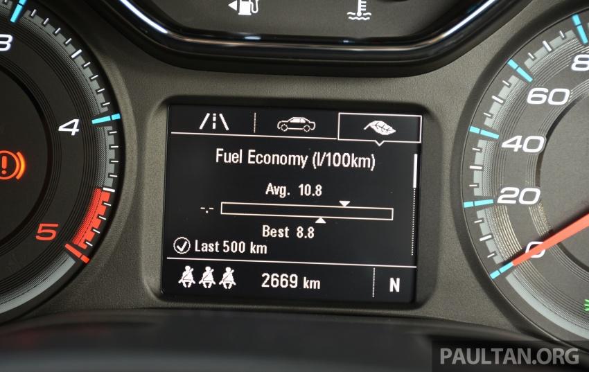 PANDU UJI: Chevrolet Colorado 2.8 High Country facelift – hadir dengan wajah baharu, lebih radikal Image #568246
