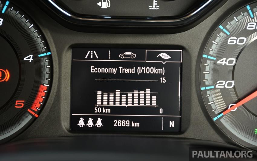 PANDU UJI: Chevrolet Colorado 2.8 High Country facelift – hadir dengan wajah baharu, lebih radikal Image #568247