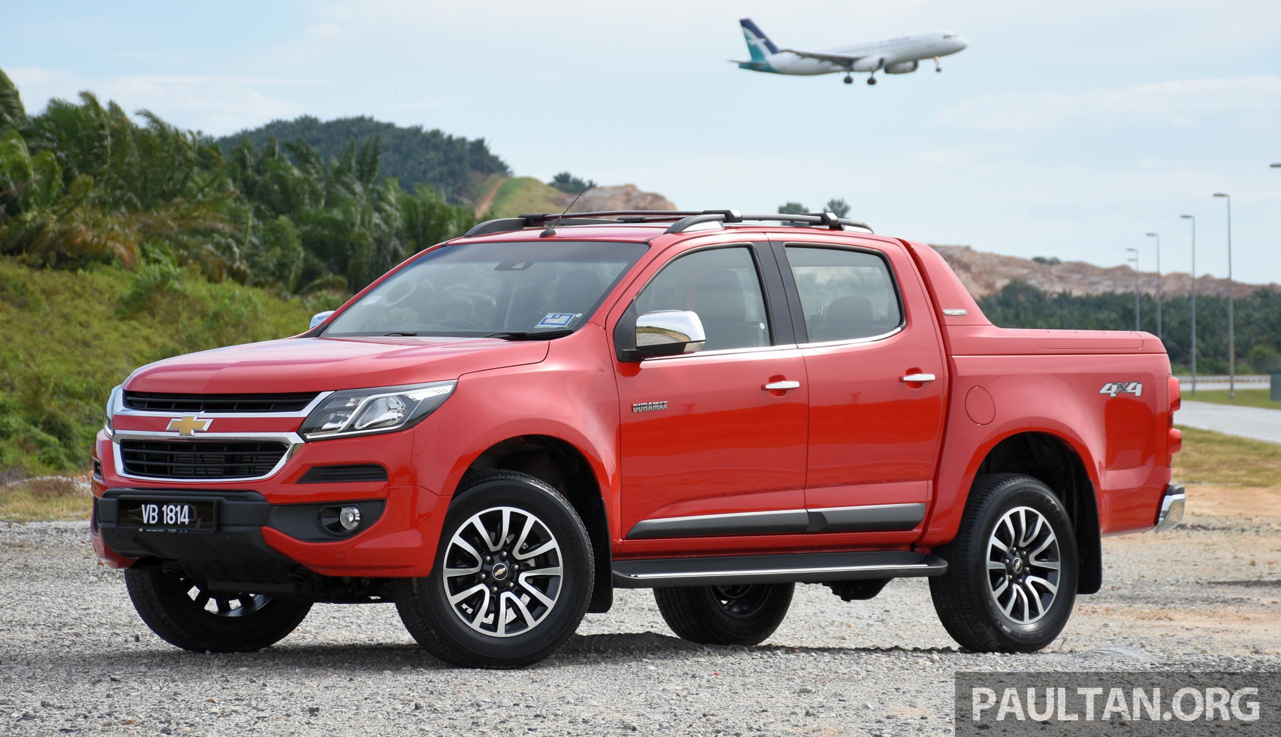 PANDU UJI: Chevrolet Colorado 2.8 High Country facelift ...