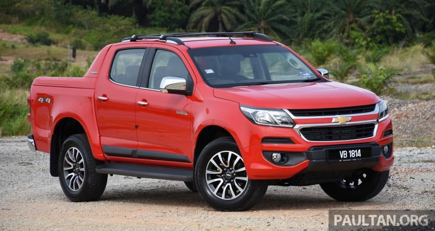 Chevrolet Colorado 'facelift' rasmi dilancarkan di Malaysia; tiga pilihan enjin, harga bermula RM100k Image #565941