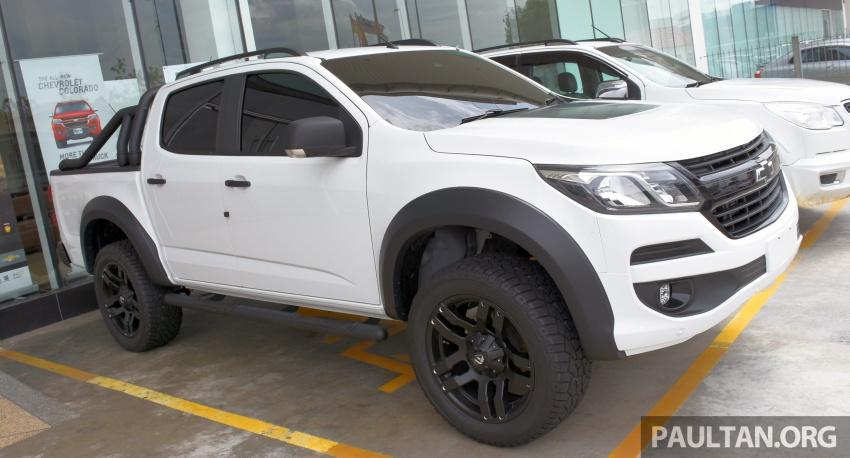 Chevrolet Colorado 'facelift' rasmi dilancarkan di Malaysia; tiga pilihan enjin, harga bermula RM100k Image #566021