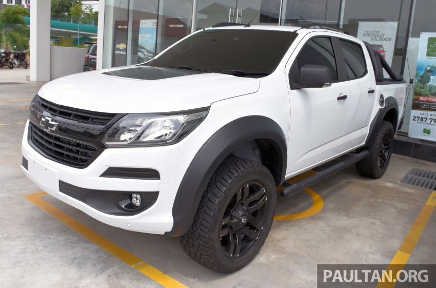 Chevrolet Colorado 'facelift' rasmi dilancarkan di Malaysia; tiga pilihan enjin, harga bermula RM100k Image #566022