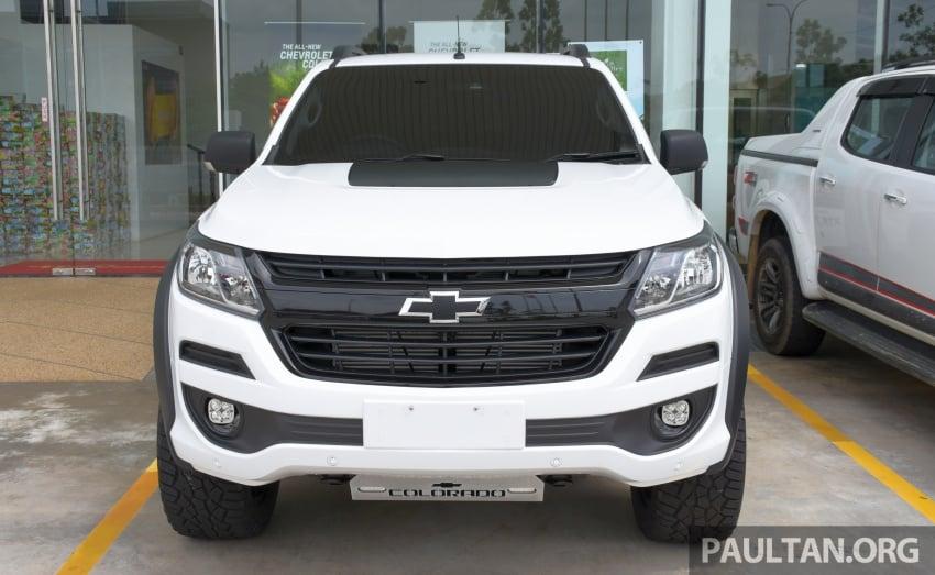 Chevrolet Colorado 'facelift' rasmi dilancarkan di Malaysia; tiga pilihan enjin, harga bermula RM100k Image #566024