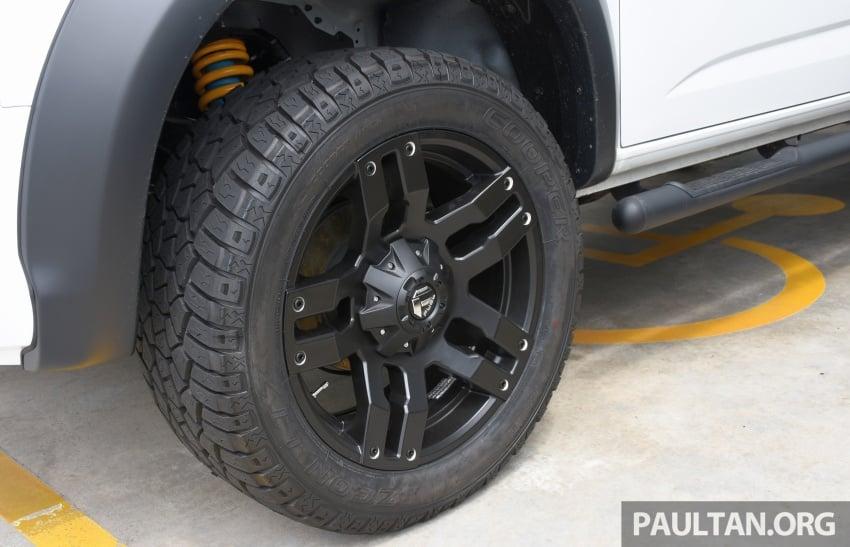 Chevrolet Colorado 'facelift' rasmi dilancarkan di Malaysia; tiga pilihan enjin, harga bermula RM100k Image #566027