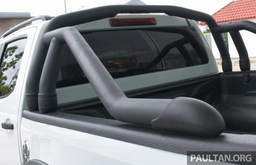 Chevrolet Colorado 'facelift' rasmi dilancarkan di Malaysia; tiga pilihan enjin, harga bermula RM100k Image #566028