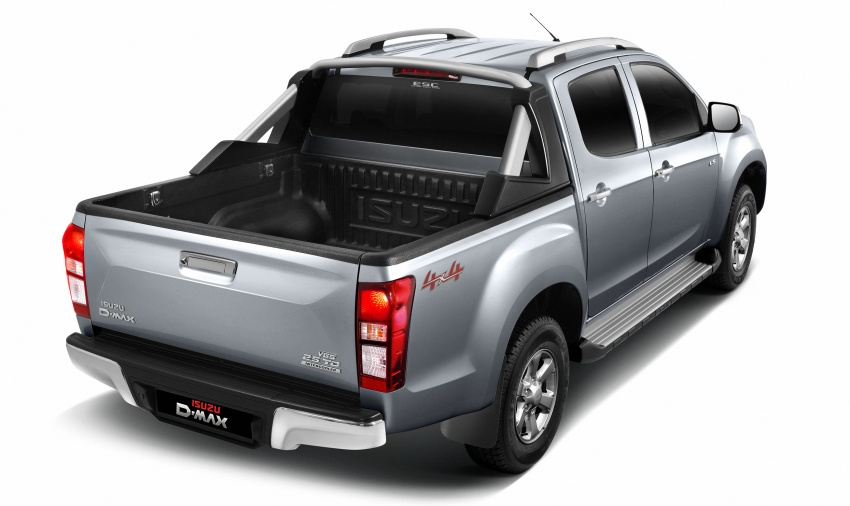Isuzu D-Max facelift launched in Malaysia – three trim levels available, eight variants; priced from RM80k Image #568706