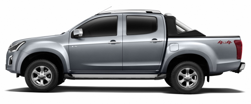 Isuzu D-Max facelift launched in Malaysia – three trim levels available, eight variants; priced from RM80k Image #568707