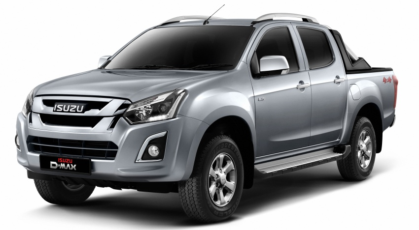 Isuzu D-Max facelift launched in Malaysia – three trim levels available, eight variants; priced from RM80k Image #568708