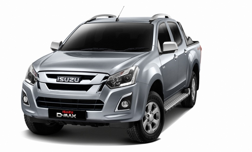 Isuzu D-Max facelift launched in Malaysia – three trim levels available, eight variants; priced from RM80k Image #568709