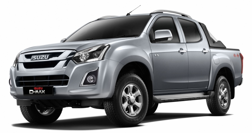 Isuzu D-Max facelift launched in Malaysia – three trim levels available, eight variants; priced from RM80k Image #568710