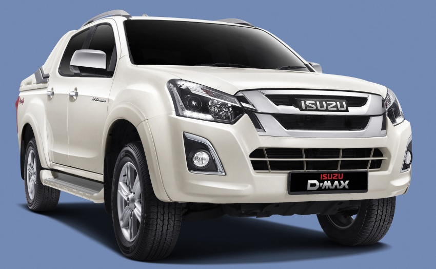 Isuzu D-Max facelift launched in Malaysia – three trim levels available, eight variants; priced from RM80k Image #568719