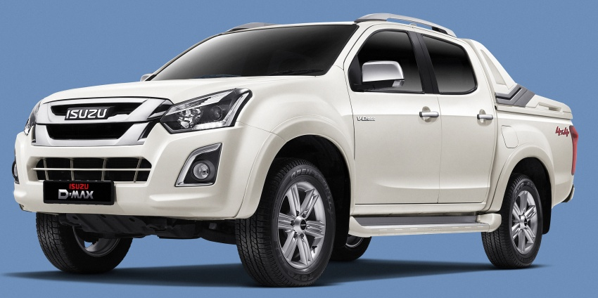 Isuzu D-Max facelift launched in Malaysia – three trim levels available, eight variants; priced from RM80k Image #568720