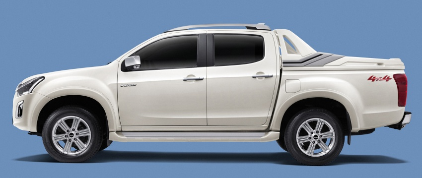 Isuzu D-Max facelift launched in Malaysia – three trim levels available, eight variants; priced from RM80k Image #568721