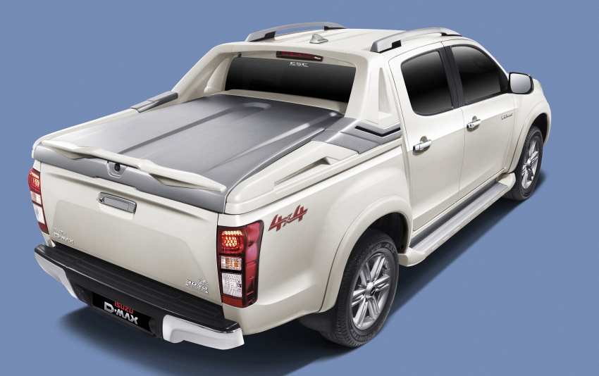 Isuzu D-Max facelift launched in Malaysia – three trim levels available, eight variants; priced from RM80k Image #568722