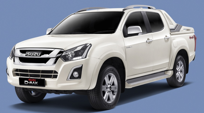 Isuzu D-Max facelift launched in Malaysia – three trim levels available, eight variants; priced from RM80k Image #568723
