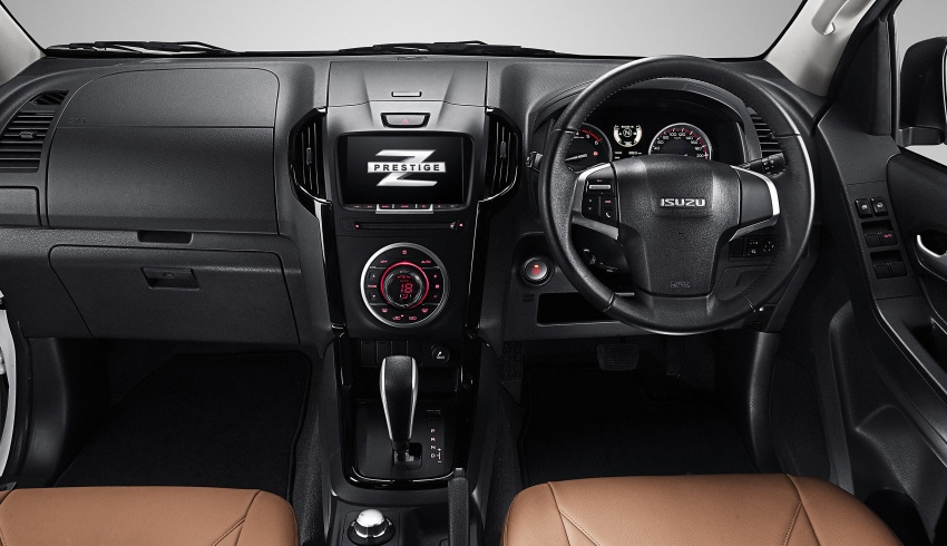 Isuzu D-Max facelift launched in Malaysia – three trim levels available, eight variants; priced from RM80k Image #568725