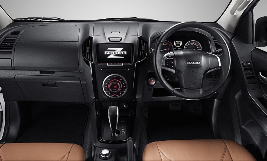 Isuzu D-Max facelift launched in Malaysia – three trim levels available, eight variants; priced from RM80k Image #568726