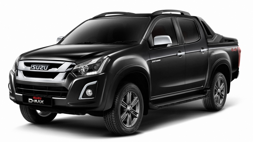 Isuzu D-Max facelift launched in Malaysia – three trim levels available, eight variants; priced from RM80k Image #568727
