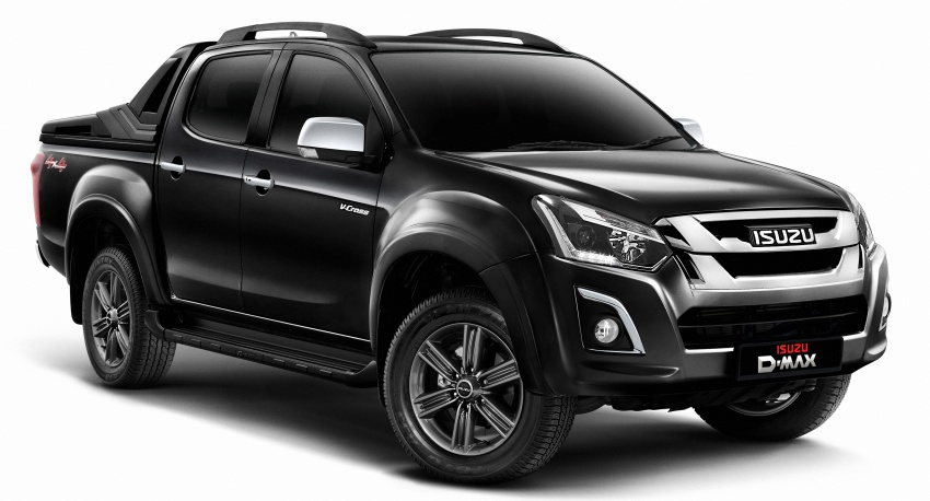 Isuzu D-Max facelift launched in Malaysia – three trim levels available, eight variants; priced from RM80k Image #568728