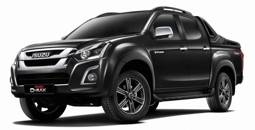 Isuzu D-Max facelift launched in Malaysia – three trim levels available, eight variants; priced from RM80k Image #568729